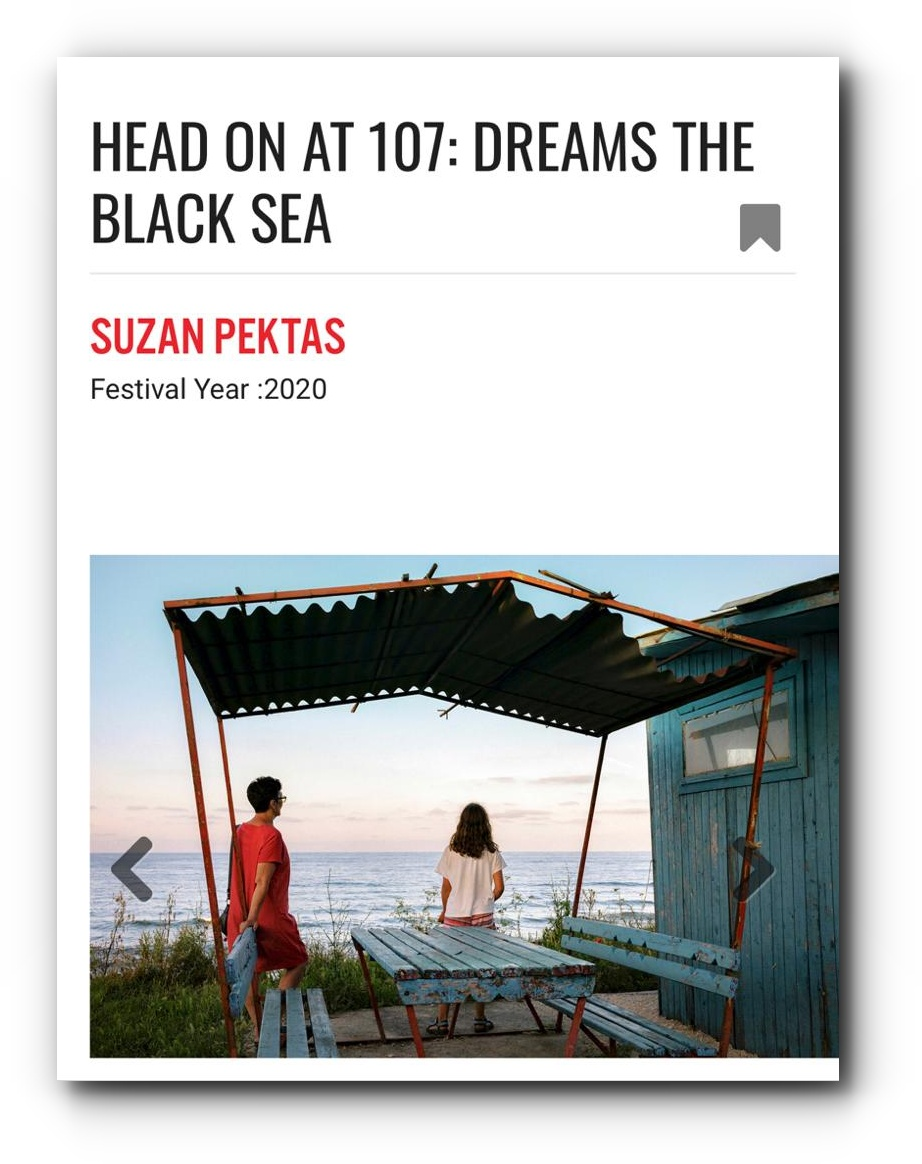 Dreams The Black Sea series featured in Head On Festival - May, 2020
