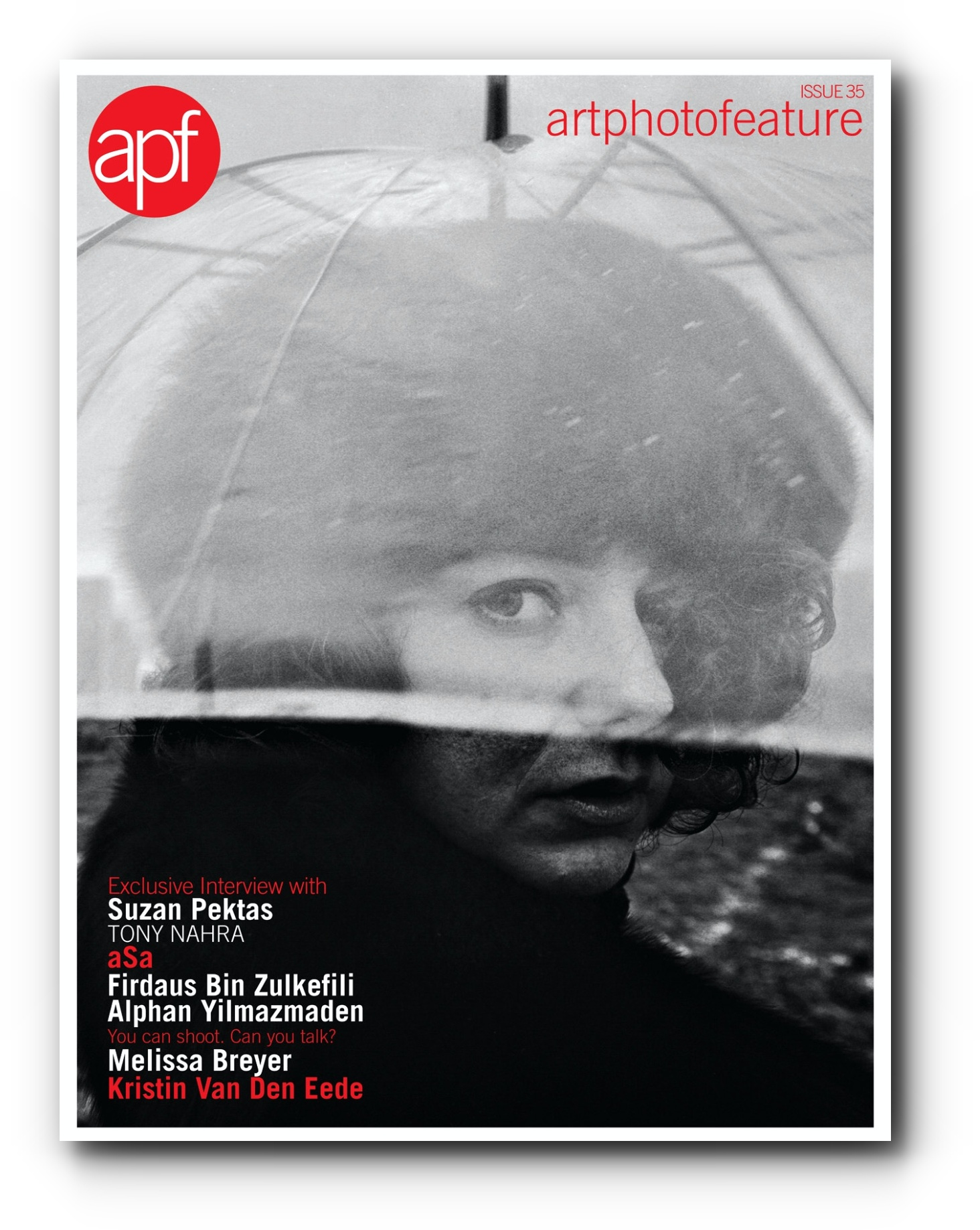 Interview in artphotofeature (apf) - April, 2018