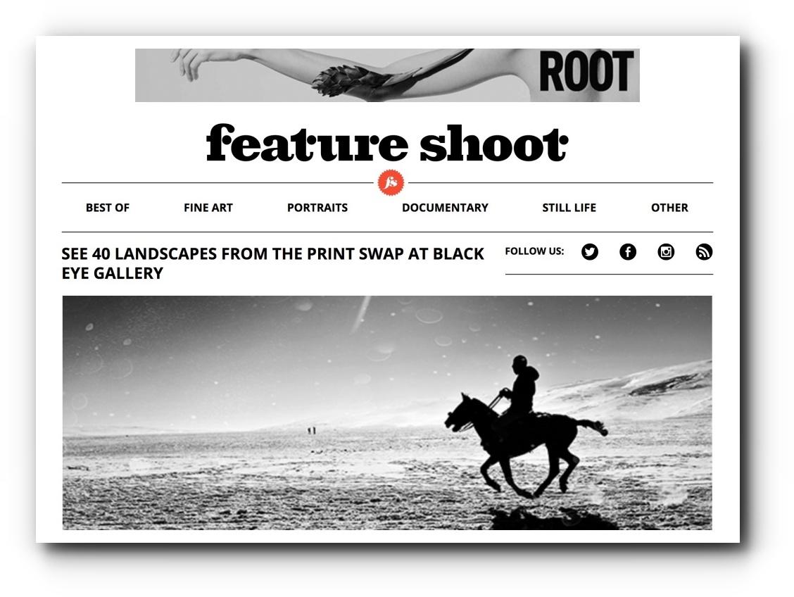 Feature Shoot Print Swap Exhibition - October, 2017