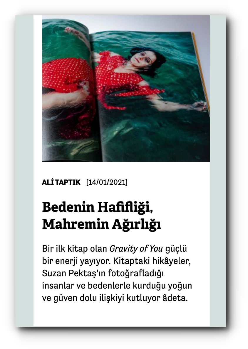 A review of Gravity Of You by Ali Taptık at Manifold - January 2021
